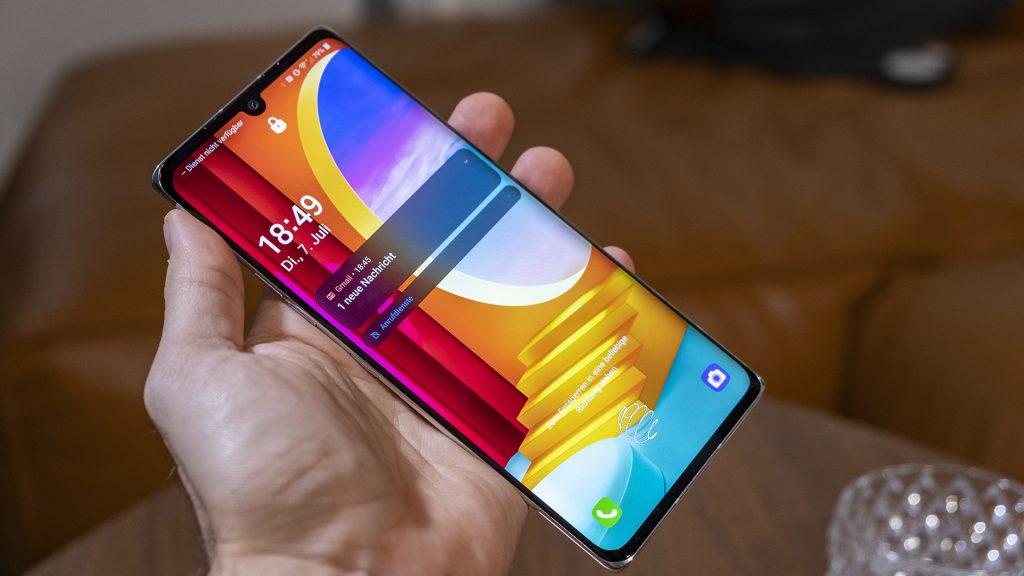 LG Velvet Smartphone Totale