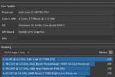 MSI Cubi 5 Intel Core i5 Cinebench R20