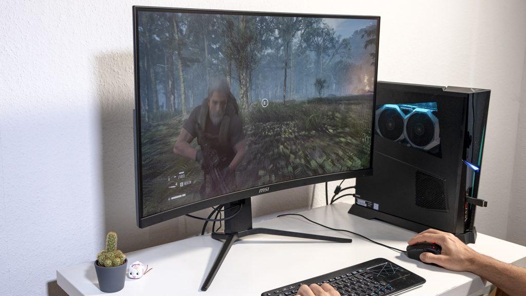 MSI Optix MAG322CQR MSI Optix MAG322CR Gaming