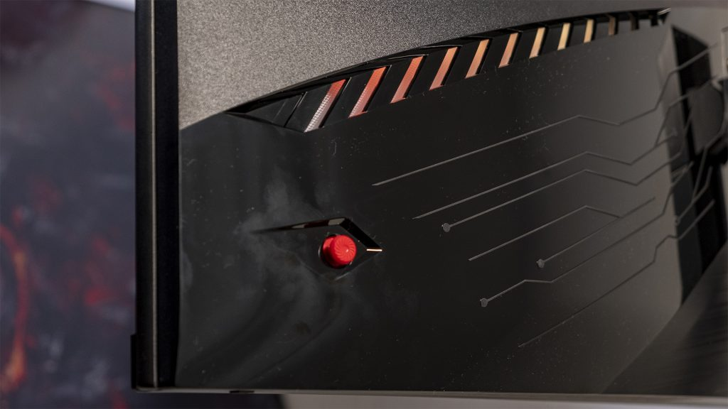 MSI Optix MAG322CQR MSI Optix MAG322CR Gaming Monitore 1500R Joystick Mystic Light
