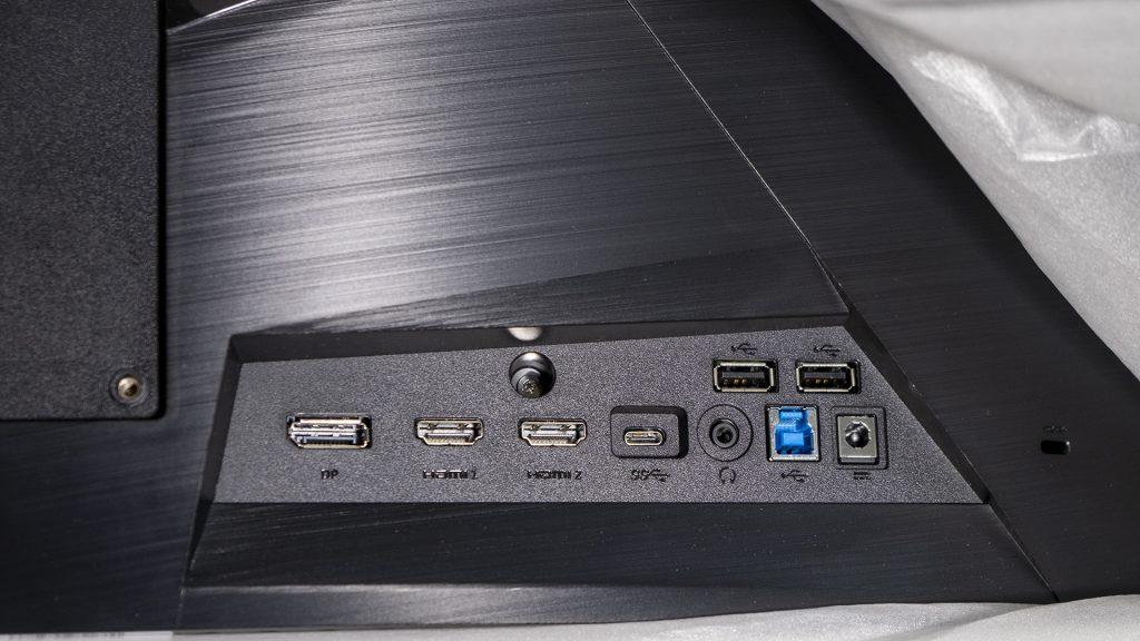MSI Optix MAG322CQR MSI Optix MAG322CR Gaming Monitore Anschluesse