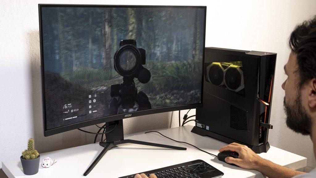 MSI Optix MAG322CQR MSI Optix MAG322CR Gaming Monitore Gaming