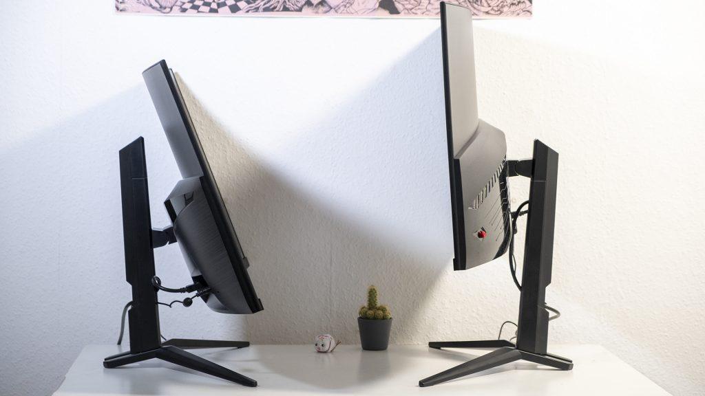 MSI Optix MAG322CQR MSI Optix MAG322CR Gaming Monitore Neigungswinkel