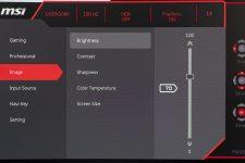 MSI Optix MAG322CQR MSI Optix MAG322CR Gaming Monitore OSD 4