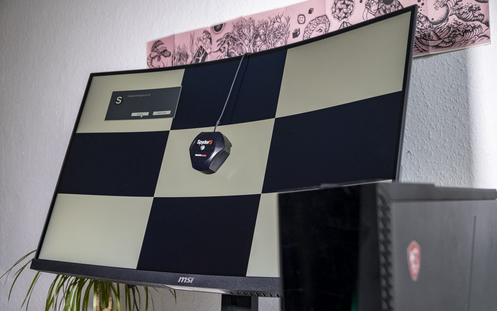 MSI Optix MAG322CQR MSI Optix MAG322CR Gaming Monitore Spyder Elite