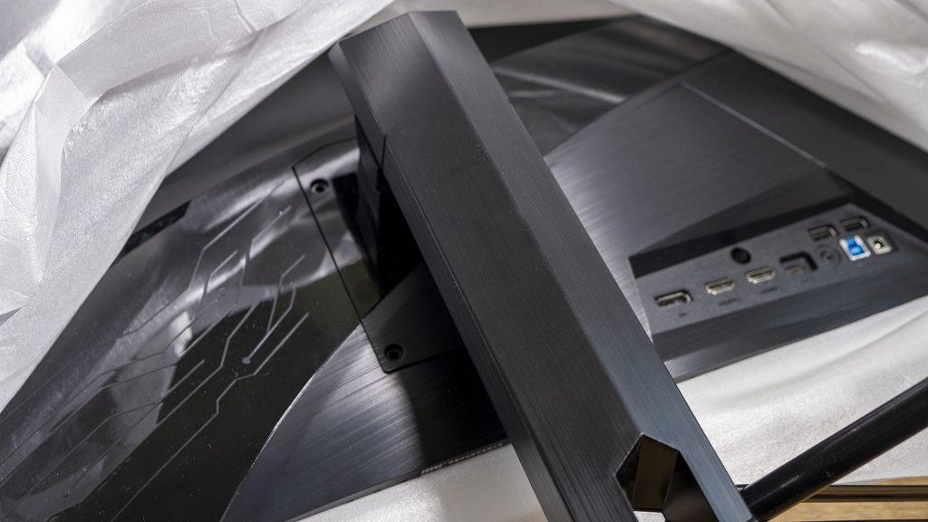 MSI Optix MAG322CQR MSI Optix MAG322CR Gaming Monitore Standbein