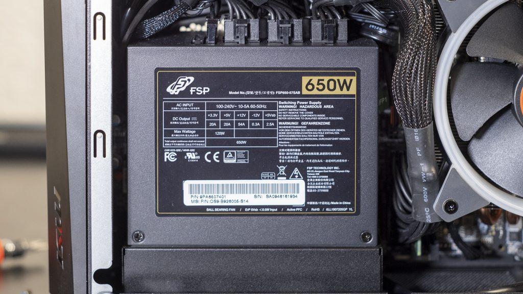 MSI Trident X Plus Netzteil Power Supply FSP Gold