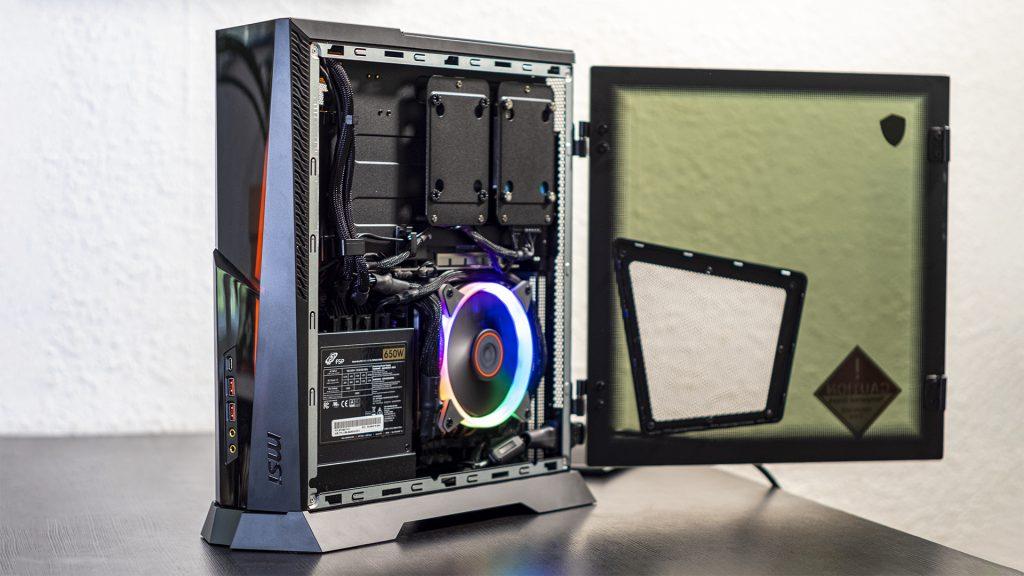 Test: MSI Trident X Plus – Schlanker RGB-Gaming PC bleibt immer cool