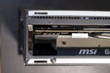 MSI Trident X Plus Serviceklappe Schrauben GPU