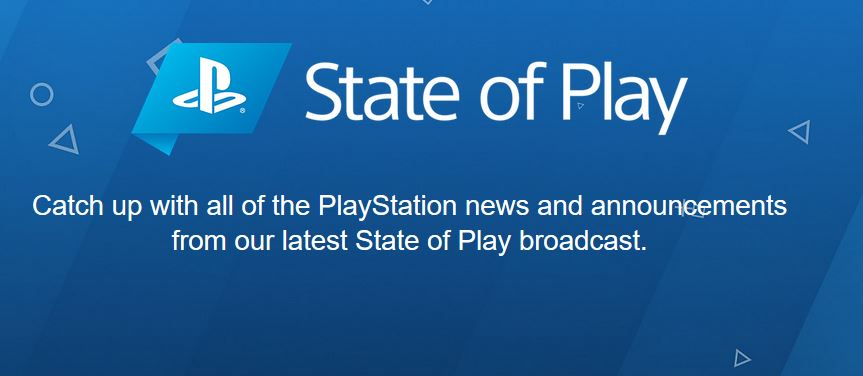 PlayStation 5 State of Play