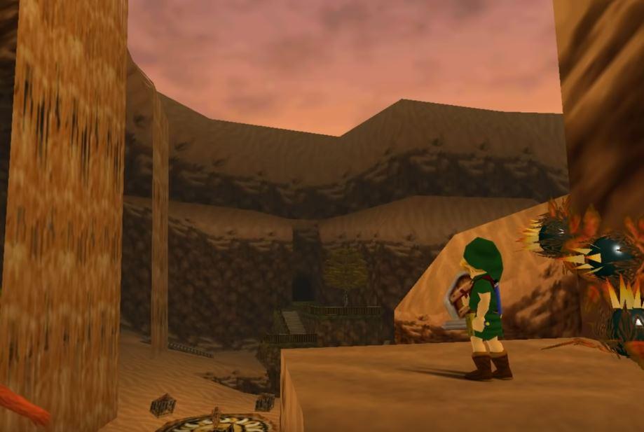 The Legend of Zelda Ocarina of Time Missing Link Screenshot