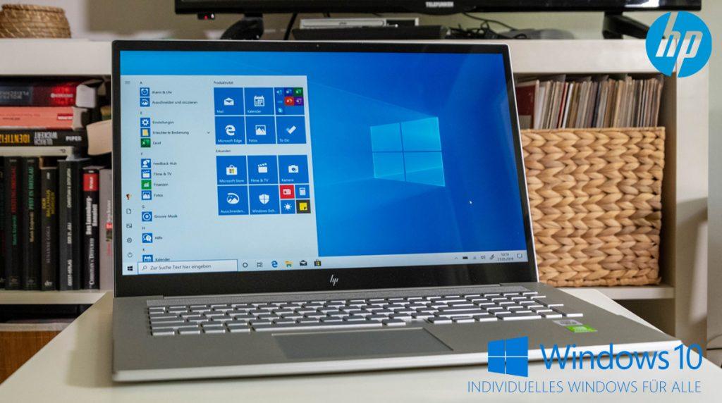 """HP ENVY 17-cg0155ng: Allrounder mit hellem 17""""-Display"""