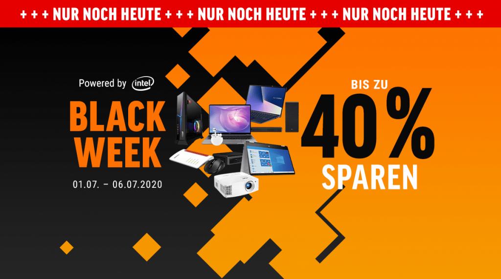 Black Week: Spart bis zu 40% auf geile Technik
