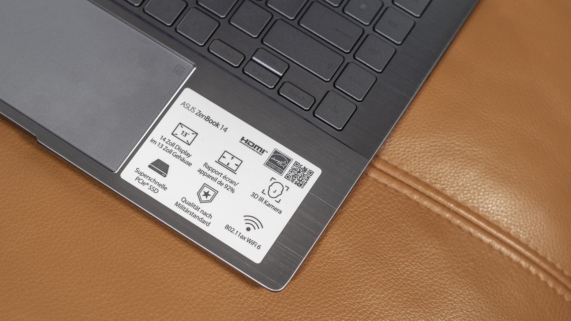 ASUS ZenBook 14 UM433I Features