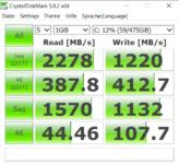 Crystal Disk ZenBook UM433I