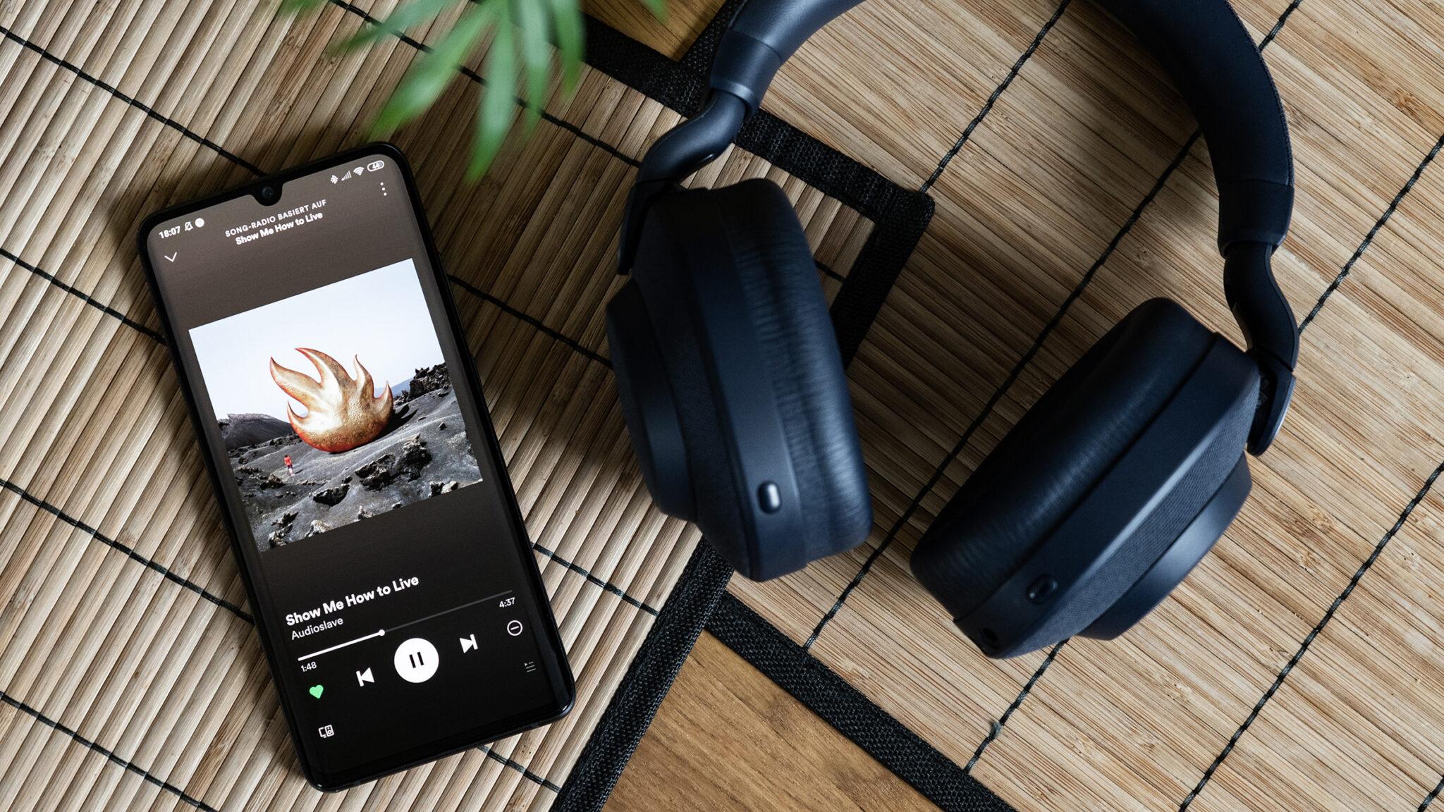 Jabra Elite 85h ANC Headset Musik