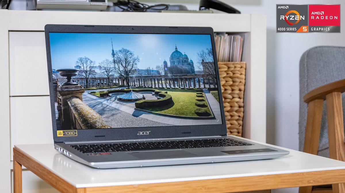 Guter Allrounder: Acer Aspire 5 mit Ryzen™ 5 4500U im Test