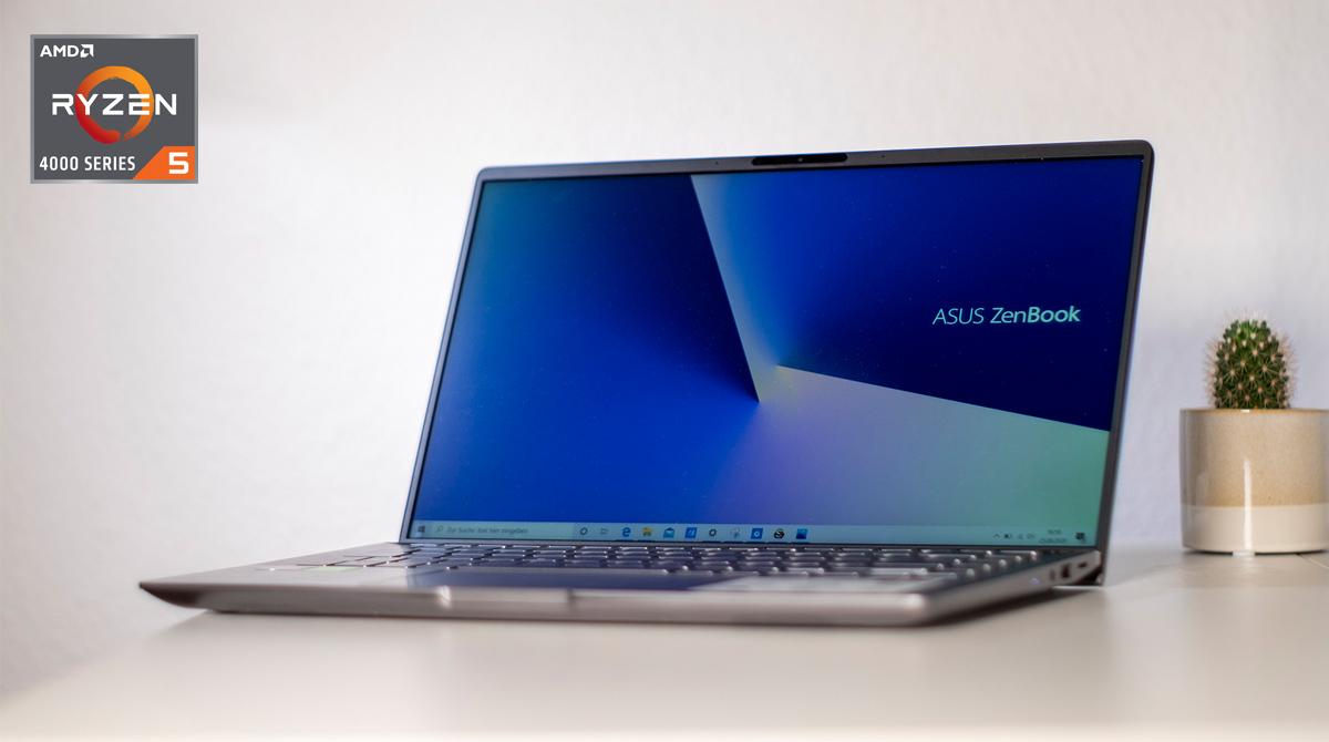 Test: ASUS ZenBook UM433I – AMD Ryzen™ 4000 trifft auf Nvidia-GPU