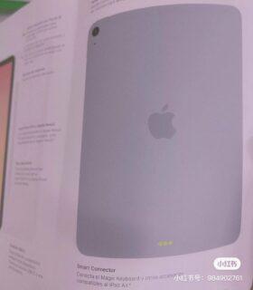iPad Air 4.Gen Handbuch back
