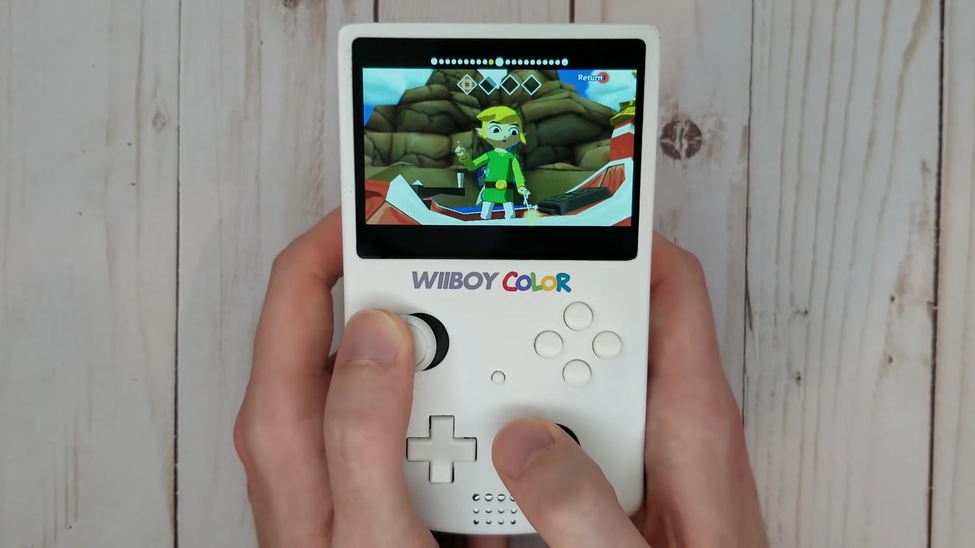 Dieser GameBoy Color ist eine tragbare Nintendo Wii