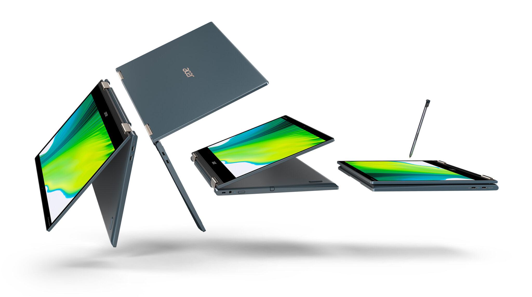 Acer: Update für Swift 3 & 5 – Spin 7 bekommt Snapdragon 8cx 5G