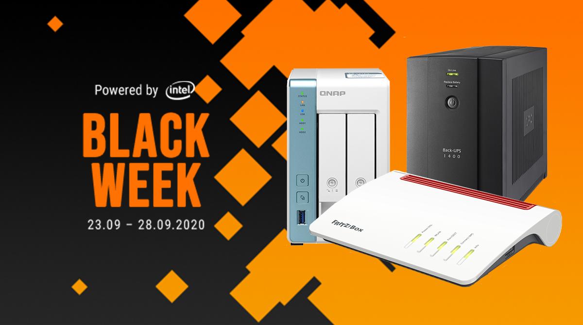 Black Week: Zeit für ein Netzwerk-Upgrade!