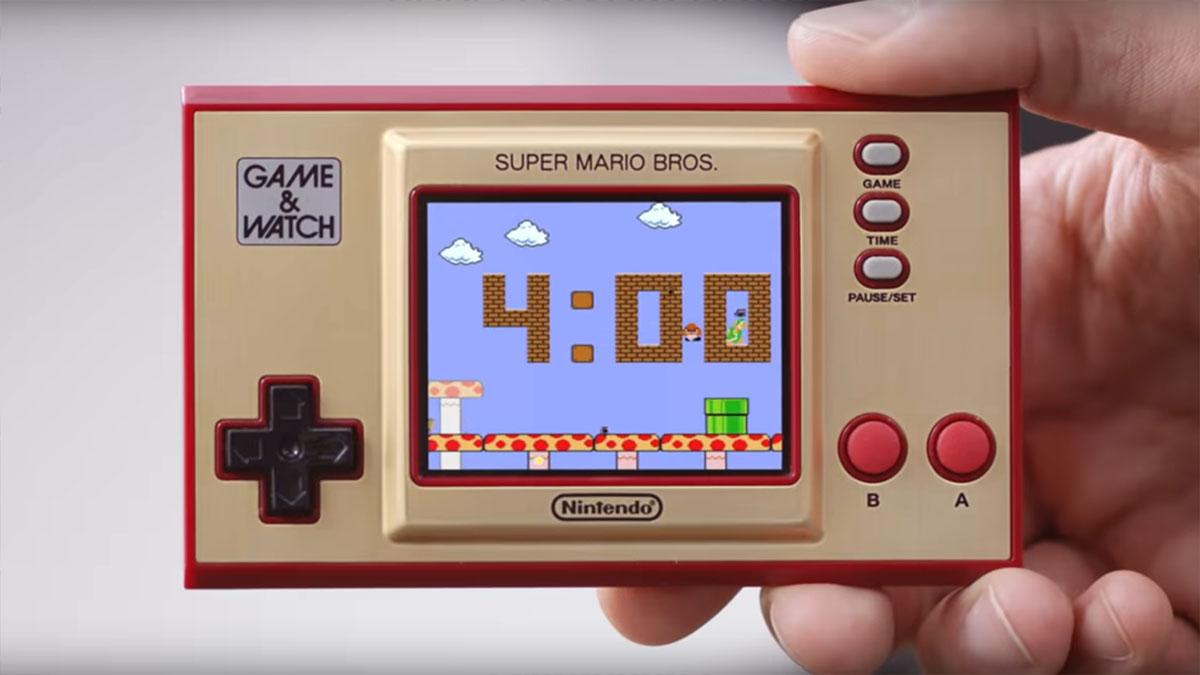 Nintendo Game & Watch: Das ist der Trailer zur Neuauflage des Handhelds