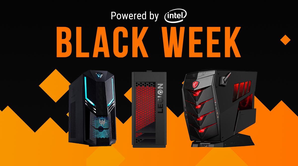 Black Week: Das sind die Desktop-PC-Highlights
