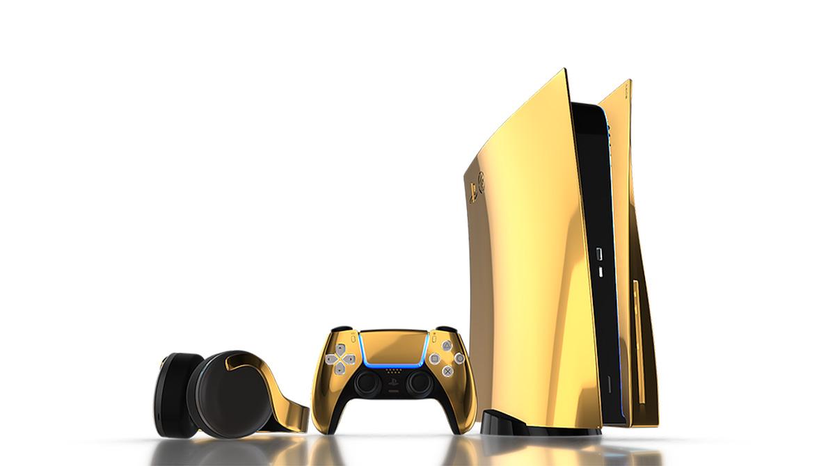 Playstation 5 Gold-Edition: Wo Spielspaß auf Luxus trifft