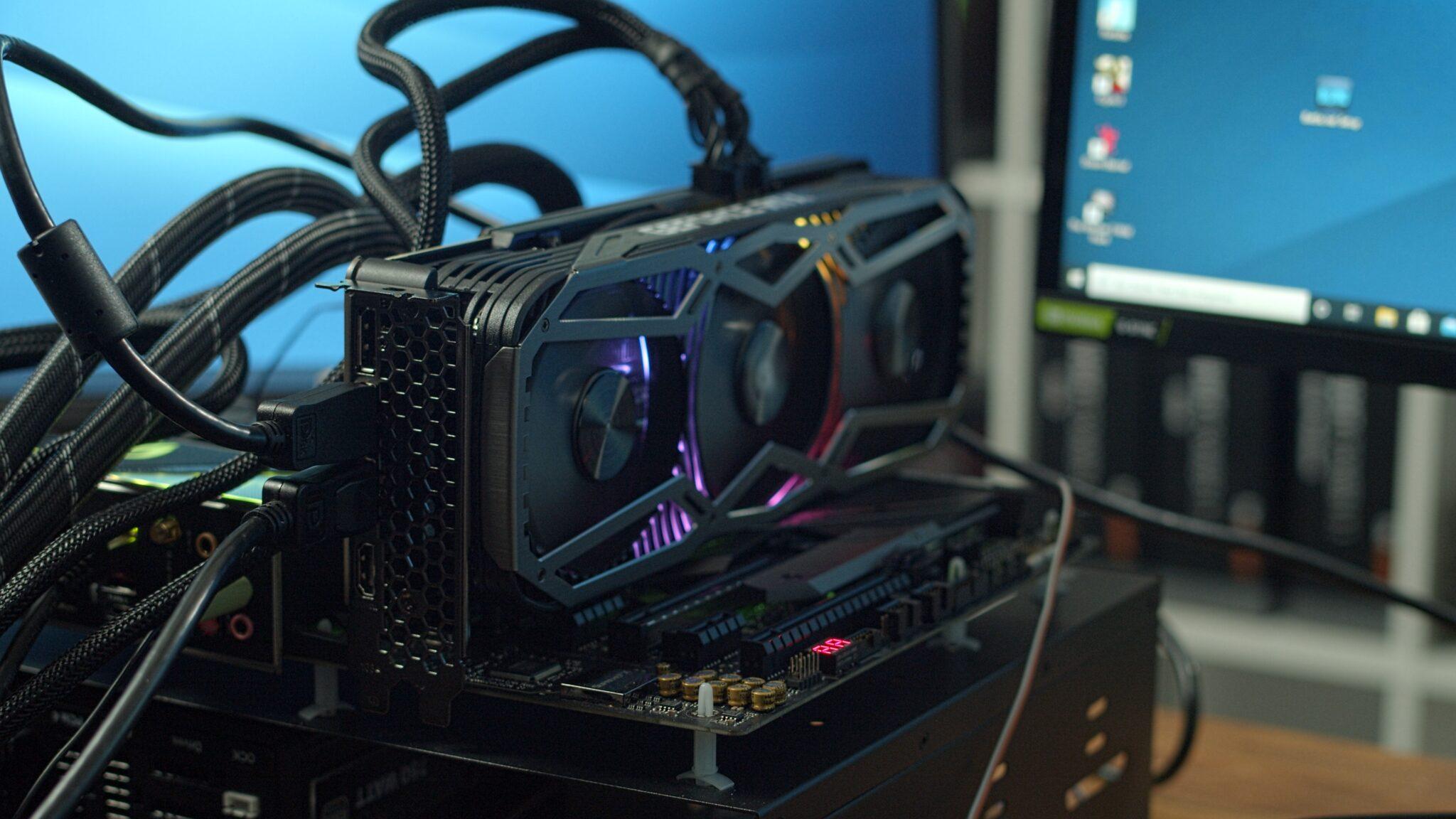 Video: Nvidia GeForce RTX 3080 – Undervolted und im Netzteilvergleich