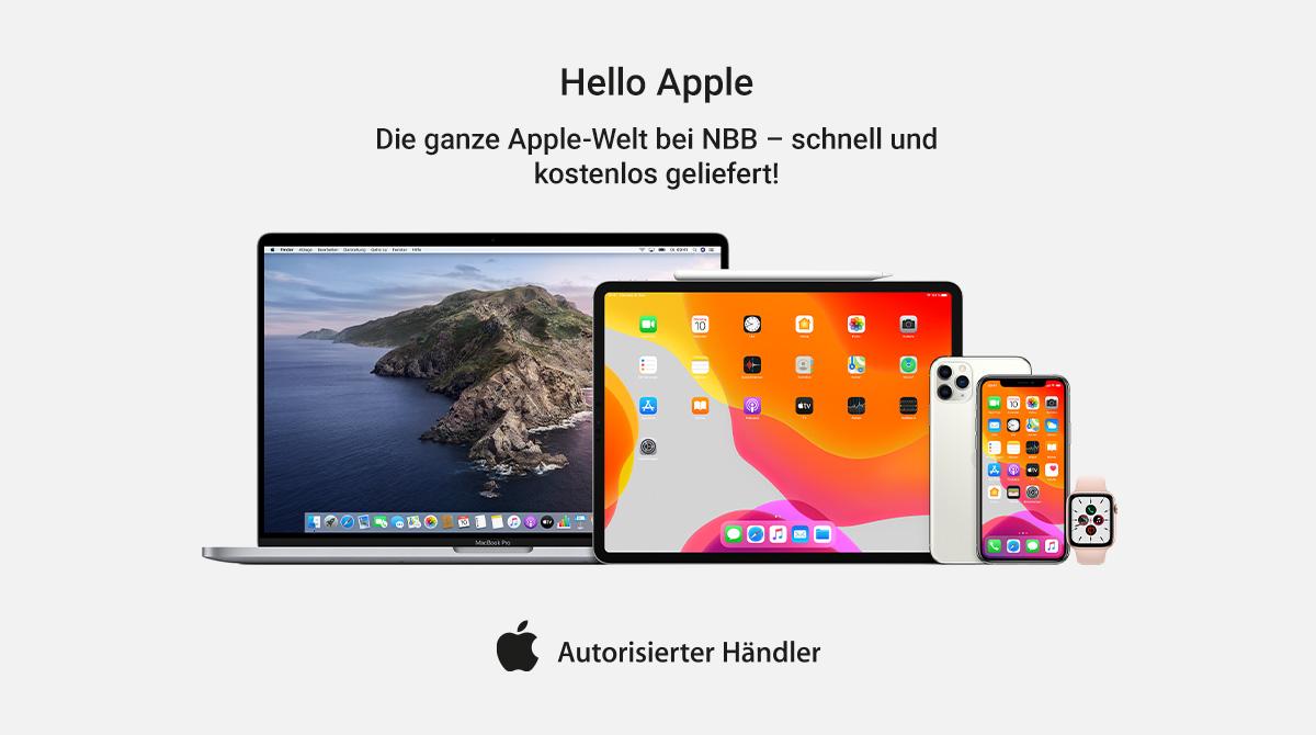 Notebooksbilliger.de ist autorisierter Apple-Händler