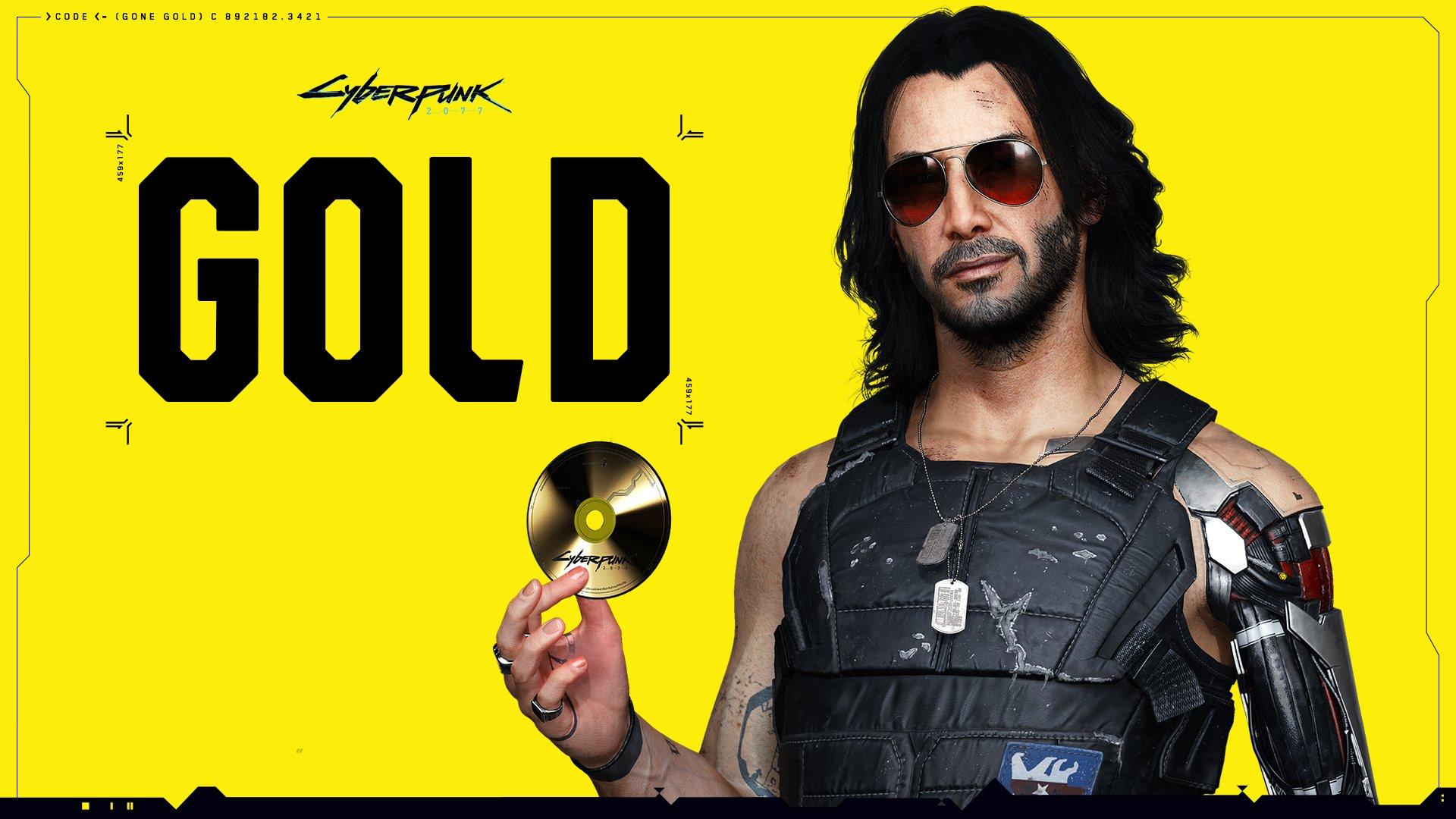 Cyberpunk 2077 Gold CD Projekt Red