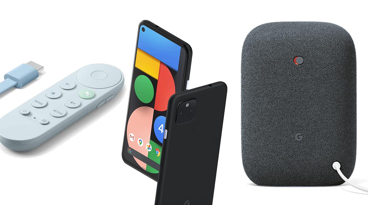 Google: Neue Pixel-Smartphones, Chromecast und Nest Audio