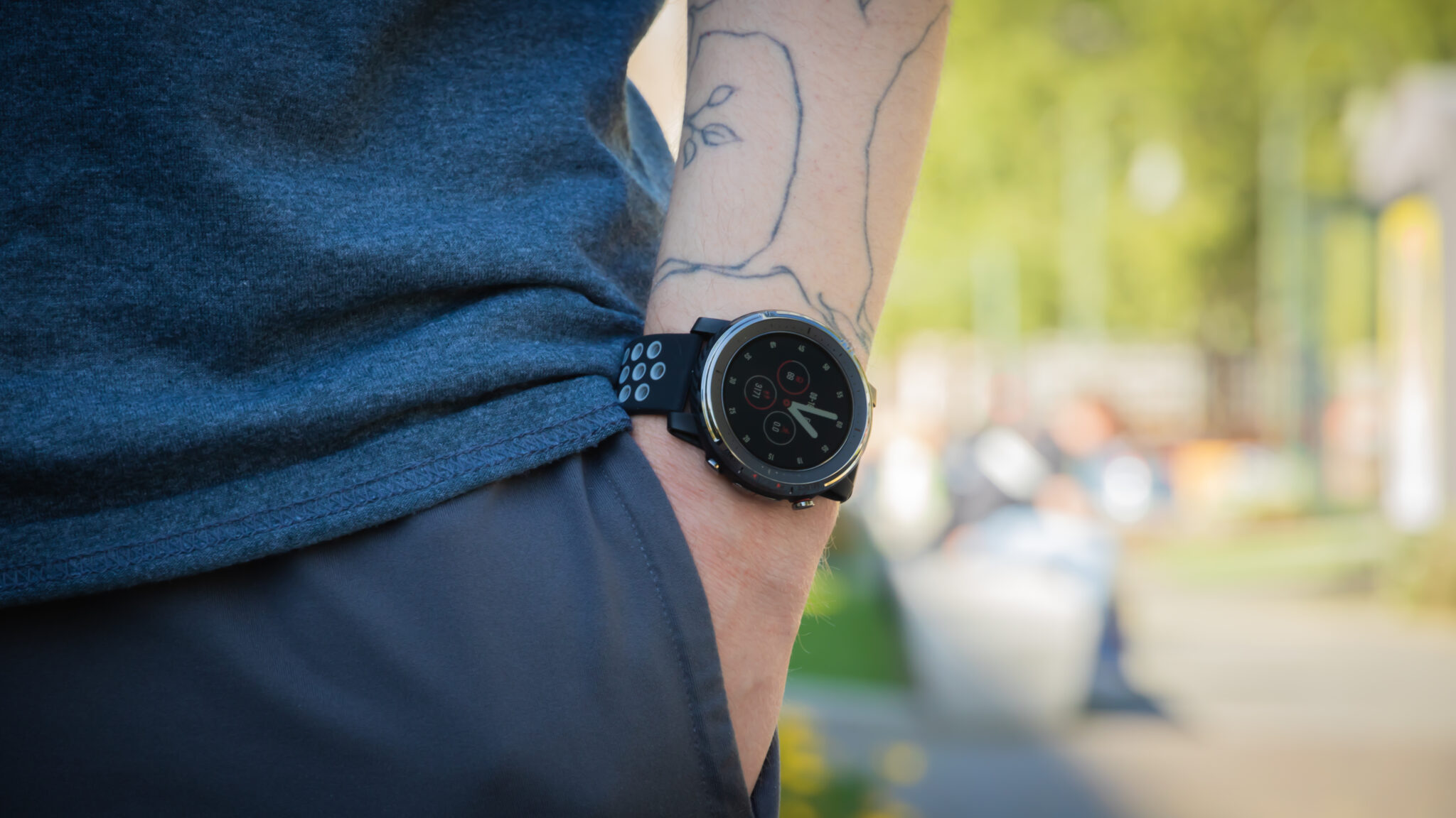 Amazfit Stratos 3: Smartwatch für Sportler mit cleveren Features