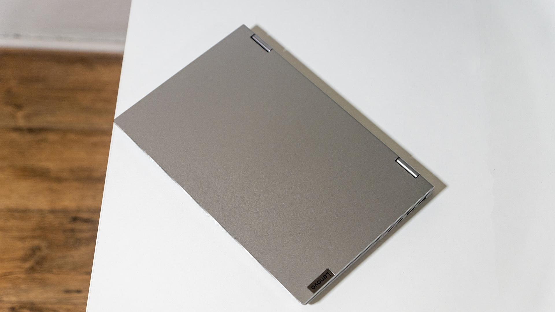 Lenovo IdeaPad Flex 5 Aluminium Deckel geschlossen