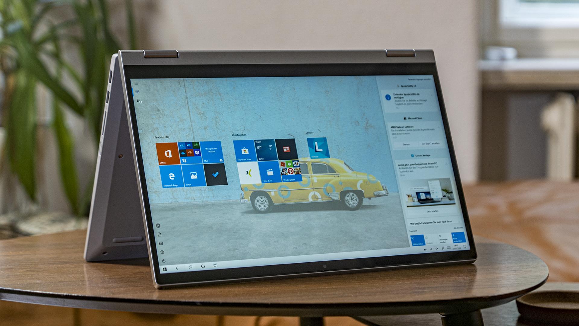 Test: Lenovo IdeaPad Flex 5 – AMD Ryzen hat den Dreh raus