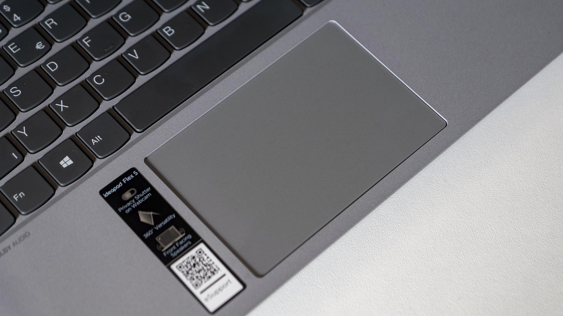 Lenovo IdeaPad Flex 5 Trackpad