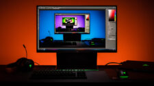 Razer Raptor 27 Gaming-Monitor Bildbearbeitung