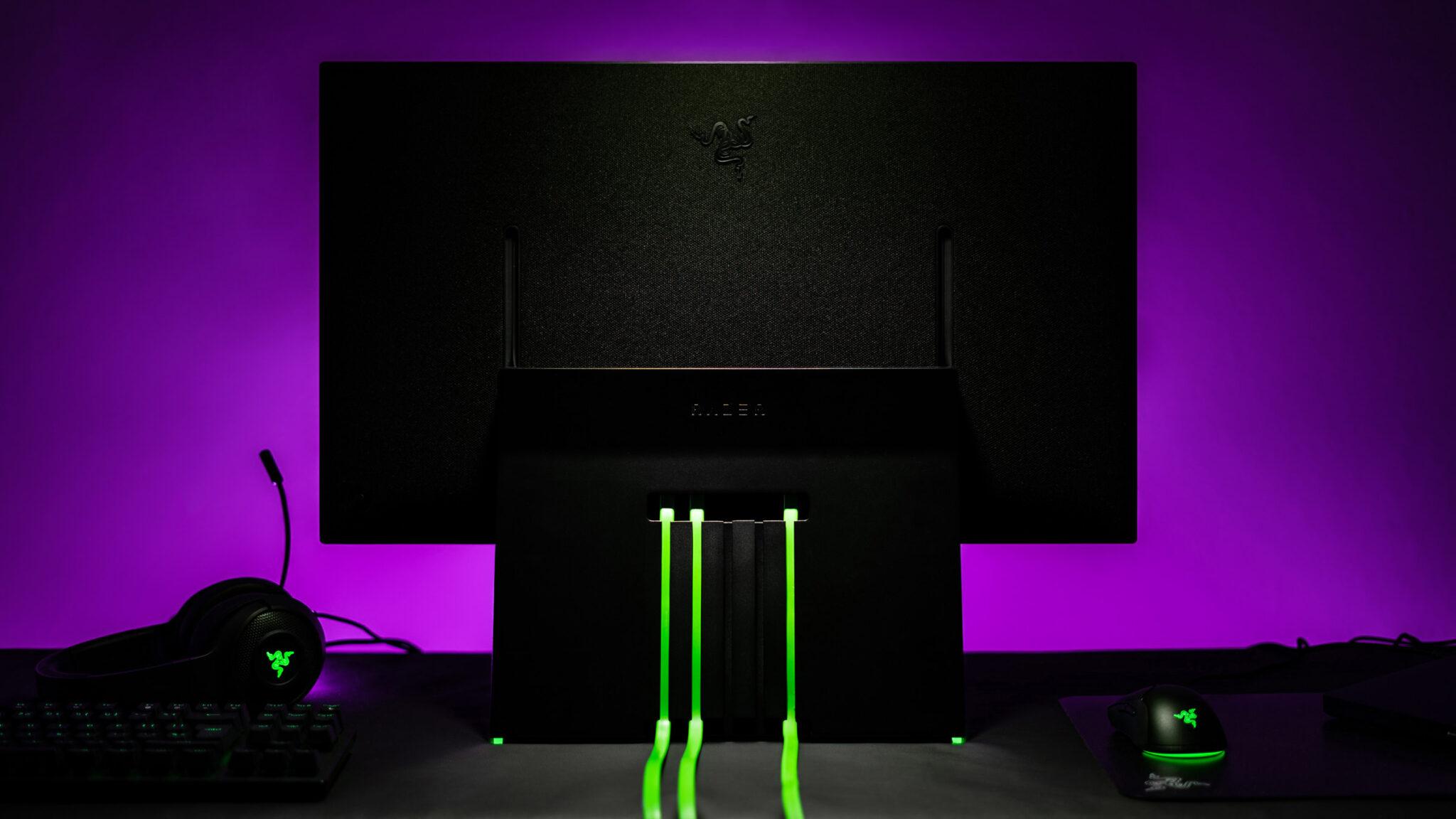 Razer Raptor 27 Gaming-Monitor Rückseite