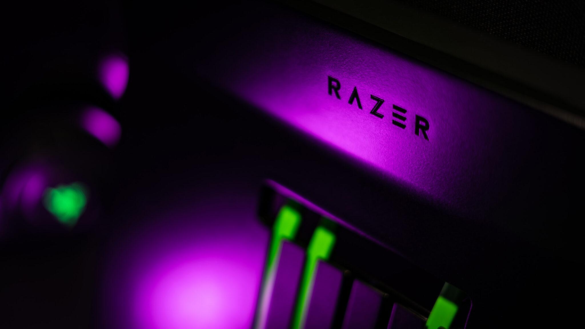 Razer Raptor 27 Gaming-Monitor Logo