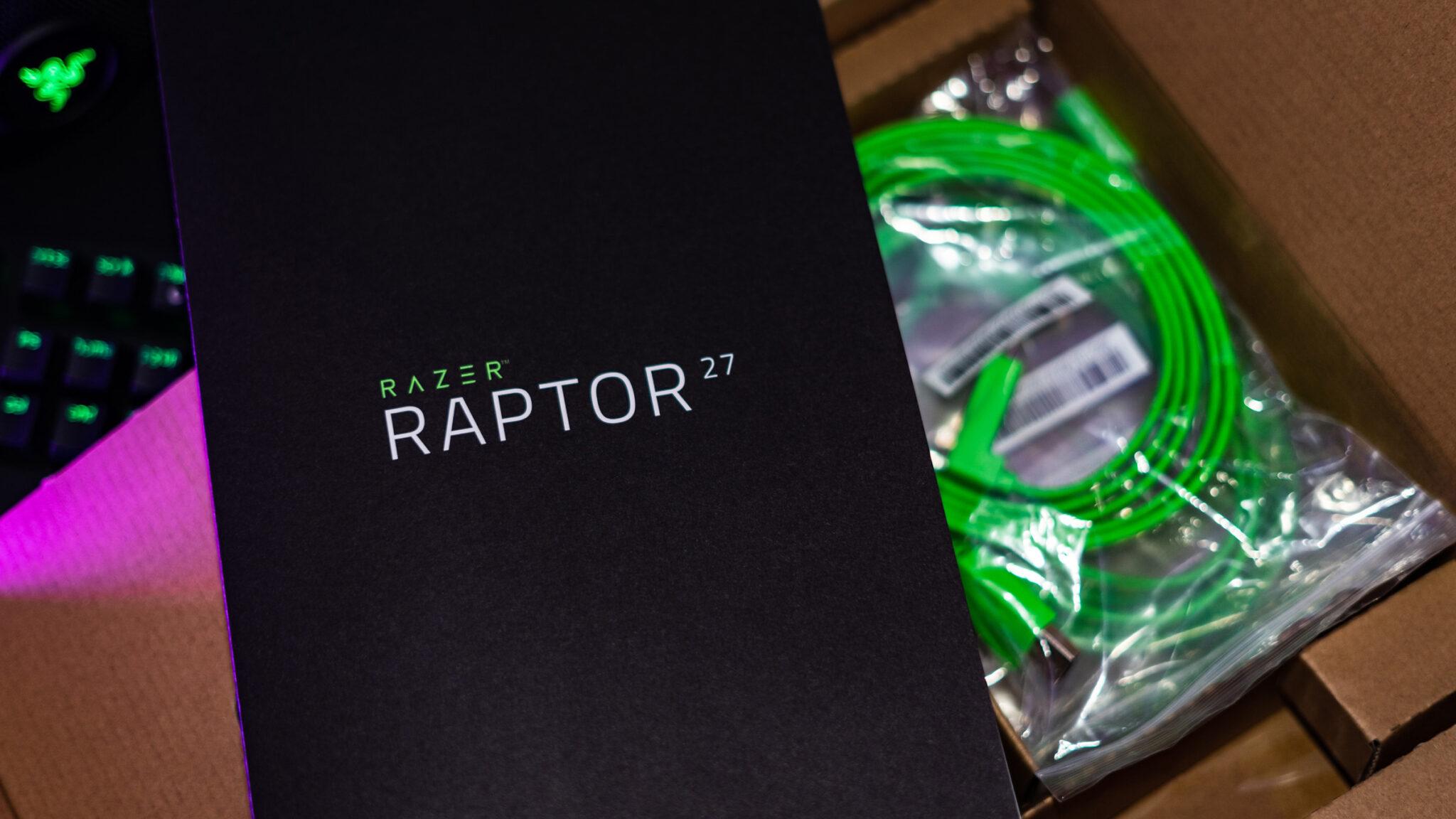Razer Raptor 27 Gaming-Monitor Zubehör