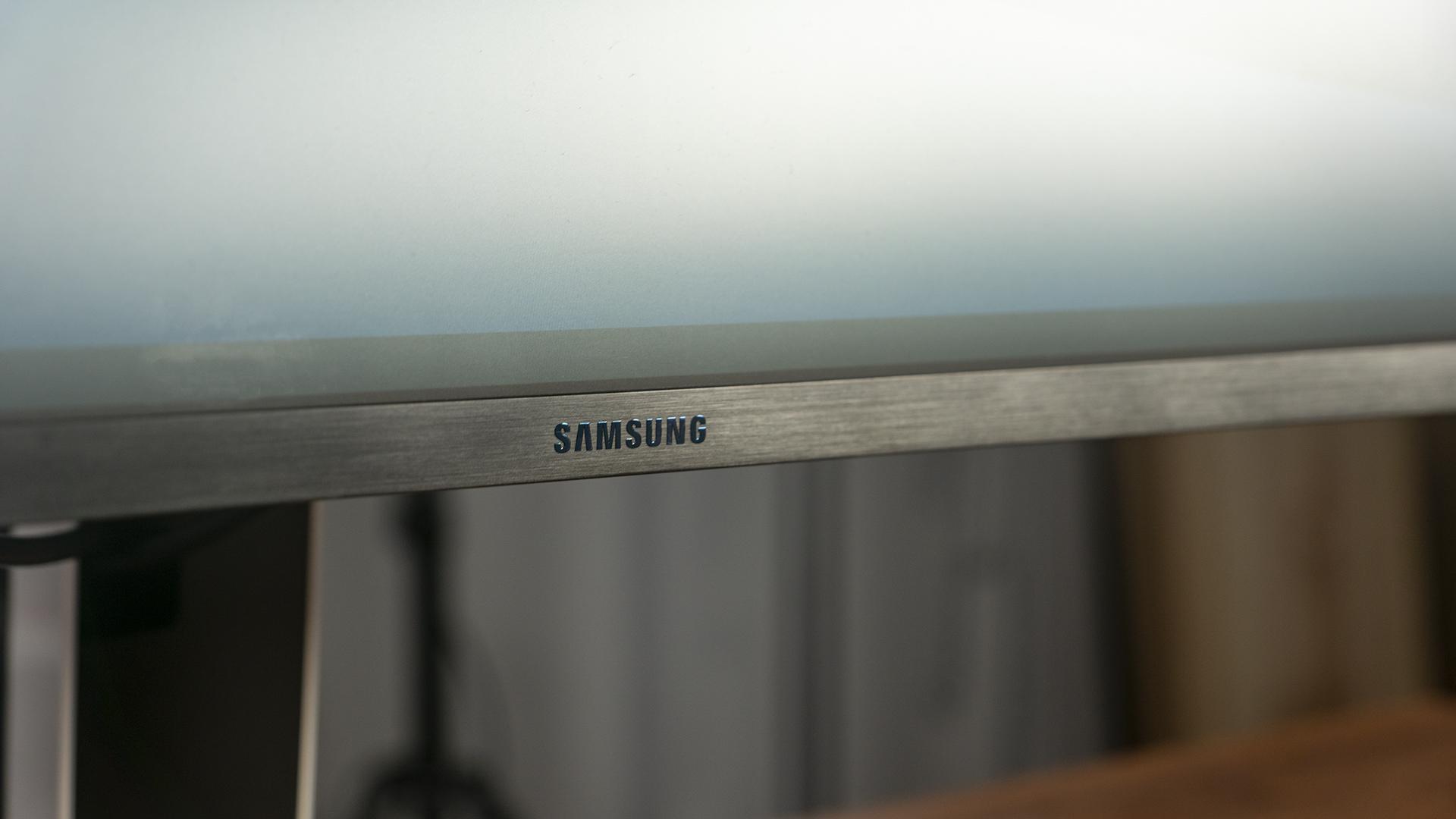 Samsung Odyssey Vorderseite Logo