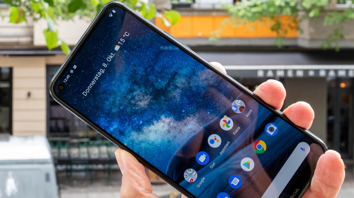 Großer Filmer: Nokia 8.3 5G im Test