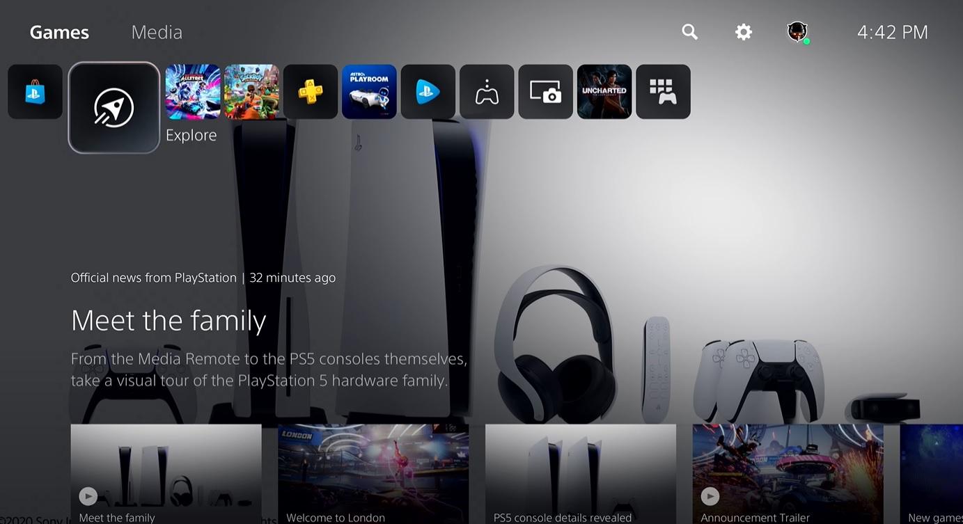 Playstation 5: Sony zeigt endlich die Benutzeroberfläche