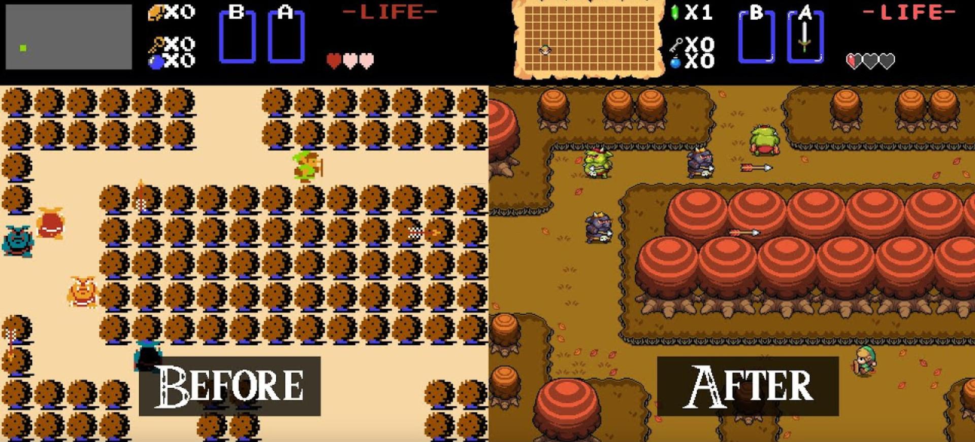 Inoffizielles Remaster des ersten Zelda-Abenteuers