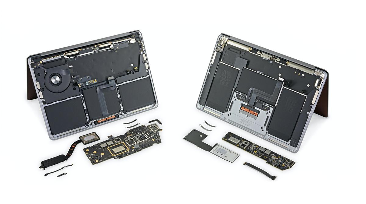 iFixit: M1-MacBook Air & MacBook Pro ändern wenig und doch alles