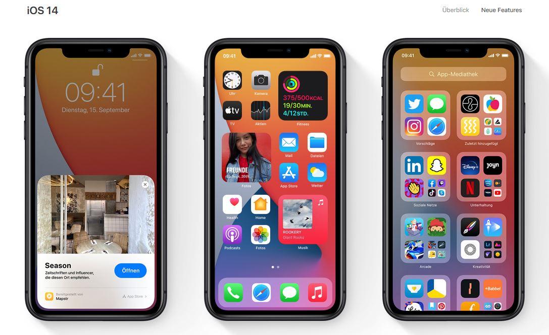 Apple iOS 14 3 Beta 1