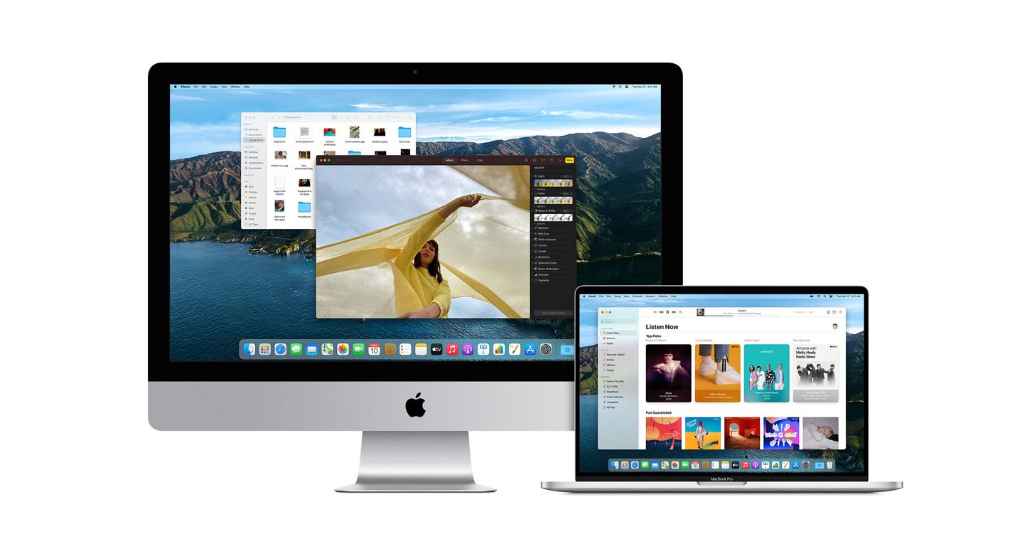 Apple macOS big Sur Änderungen