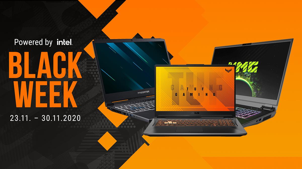 Black Week: Die besten Gaming-Notebook-Deals bis 1000€ & 2000€