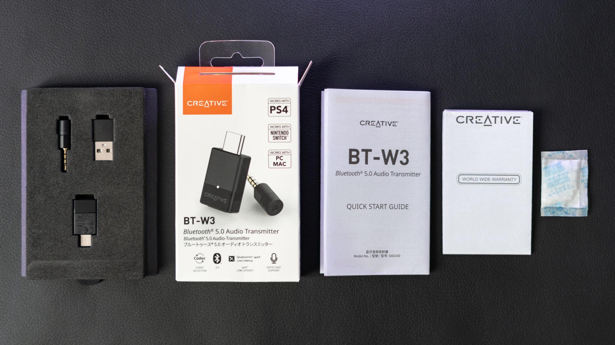 Creative BT-W3 Test